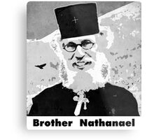 Brother Nathanael with Title Metal Print