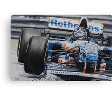 Damon Hill, Williams FW17 Canvas Print