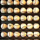 Baseball - You have got some balls there by Mike  Savad