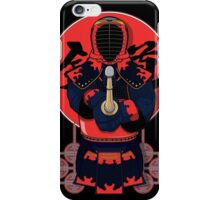 Red Kendo! iPhone Case/Skin