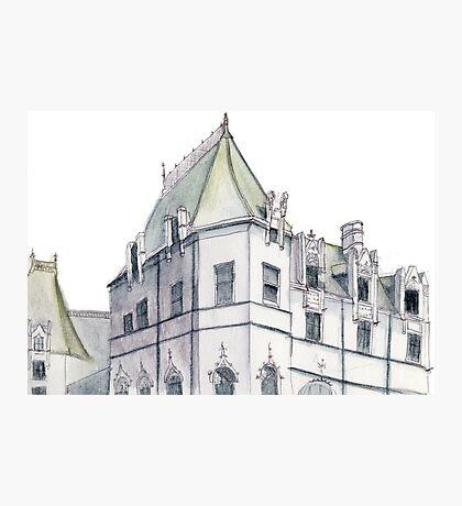 The Biltmore Estate | Drawing Photographic Print