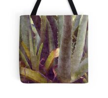 Rainy Aloe Tote Bag