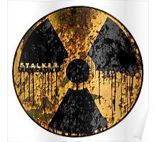 Stalker Radiation Symbol Poster