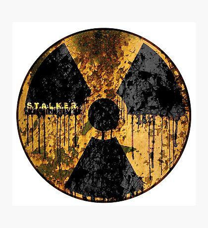 Stalker Radiation Symbol Photographic Print
