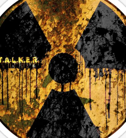 Stalker Radiation Symbol Sticker