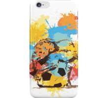 Colorful Elephant Game iPhone Case/Skin