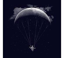 Parachute Moon Photographic Print