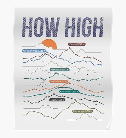 how high Poster