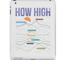 how high iPad Case/Skin