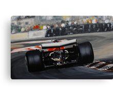 Gilles Villeneuve, Ferrari 312T5 Canvas Print