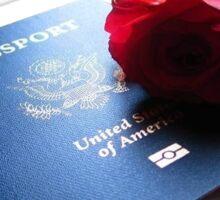 Passport Beauty Sticker