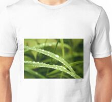 Raindrops on Dune Grass Unisex T-Shirt