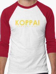 Koppai Productions Text Logo Men's Baseball ¾ T-Shirt