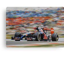 Daniil Kvyat, Toro Rosso STR 9 Canvas Print