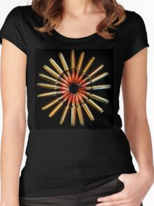 Brass Daisy Women's Fitted Scoop T-Shirt