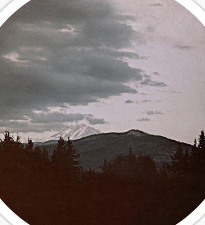 Oregon Landscape Sticker