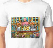 FOX THEATRE IN DETROIT WITH STREET HOCKEY Unisex T-Shirt