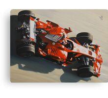Kimi Raikkonen, Ferrari F2008 Canvas Print