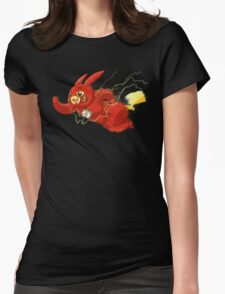 Flashchu Womens Fitted T-Shirt