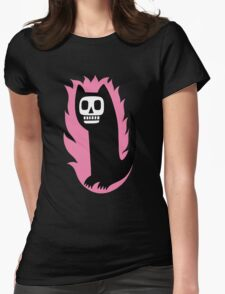 Here kitty kitty Womens Fitted T-Shirt