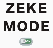 Zeke Mode - ON One Piece - Short Sleeve