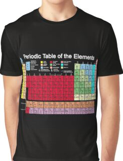 Periodic table of the Elements updated Graphic T-Shirt