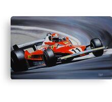 Niki Lauda, Ferrari 312T2 Canvas Print