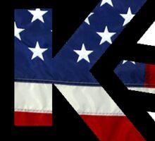 Kennesaw Loves America Sticker
