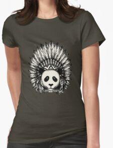 Panda Womens Fitted T-Shirt