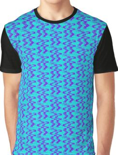 Abstract River Graphic T-Shirt