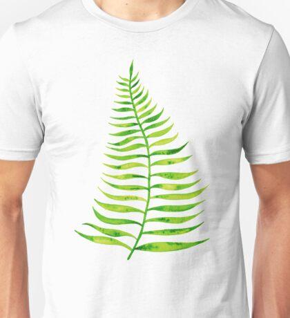 Lime Palm Leaf Unisex T-Shirt