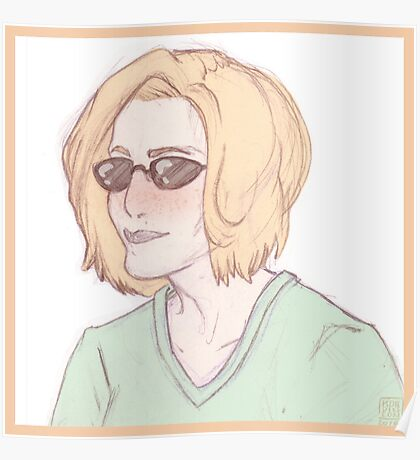 Scully Feat. Sunglasses Poster