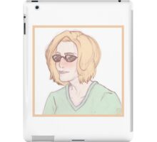 Scully Feat. Sunglasses iPad Case/Skin