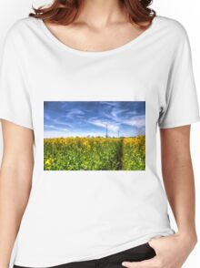 The Summer  English Field Women's Relaxed Fit T-Shirt