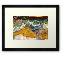 Radium - Modern Abstract painting Framed Print