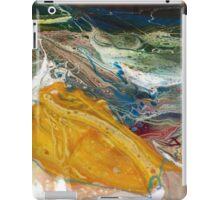 Radium - Modern Abstract painting iPad Case/Skin