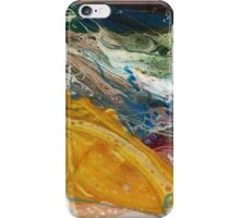 Radium - Modern Abstract painting iPhone Case/Skin