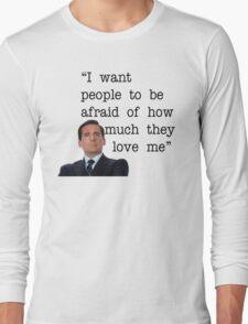 Michael Scott - The Office Long Sleeve T-Shirt