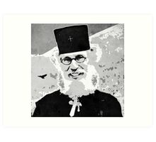 Brother Nathanael Art Print