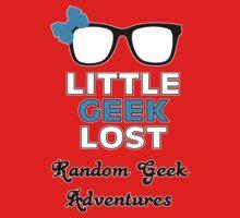 Littlegeeklost Random Adventures Kids Tee