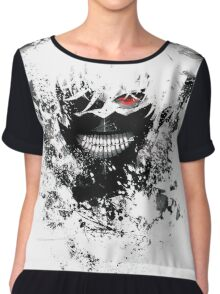 Tokyo Ghoul - The Eyepatch Ghoul (White Version) Chiffon Top