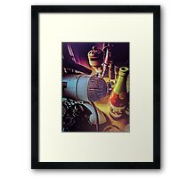 Meanwhile, Back In The Lab Framed Print