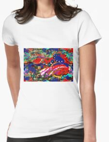 The Fantasy Abstract Womens Fitted T-Shirt