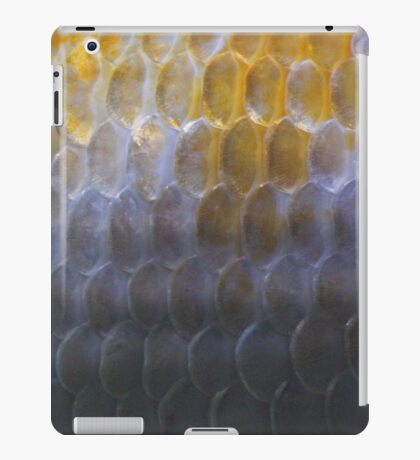 Koi Fish Scale Pattern iPad Case/Skin