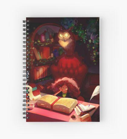 Book of Spells Spiral Notebook