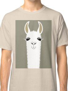 LLAMA PORTRAIT #1 Classic T-Shirt