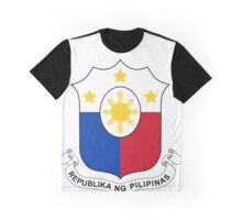 Philippines Coat of Arms Graphic T-Shirt
