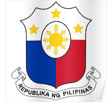 Philippines Coat of Arms Poster