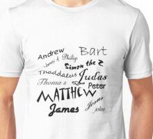 Jesus and apostle Autographs Unisex T-Shirt