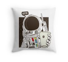 Houston... We have a Coffee!  Throw Pillow